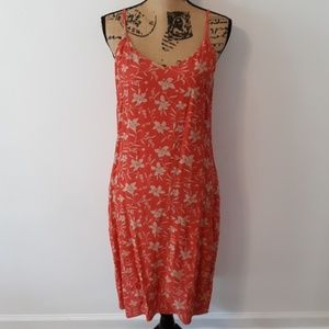 GAP Spaghetti Strap Floral Dress Size 12